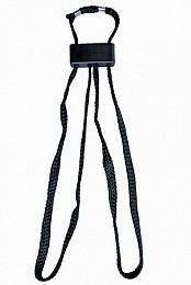 Einweghandfessel in Farbe schwarz
