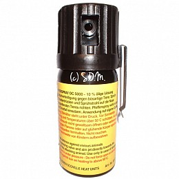 Red Pepper Spray 40 ml Liquid Stream
