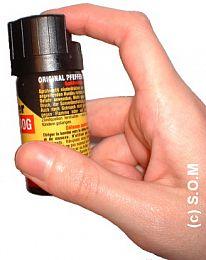 Das 12% OC* Pfefferspray 40 ml Sprühnebel