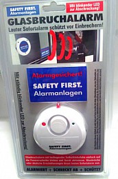 Safety First Glas Break Alarm